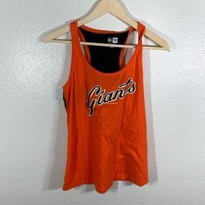 San Francisco Giants Orange Tank by New Era Sz M